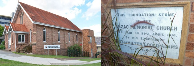 In 1916 this was a Methodist Church; in 2014 it is a Uniting Church. Photos courtesy of Darren Reddacliff.
