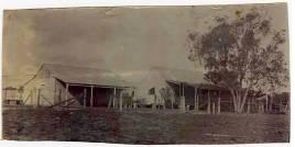 Photograph of the Sergeants Quarters 1912  DID 26855