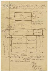 Sketch of the Sergeants Quarters 1912 DID 26854