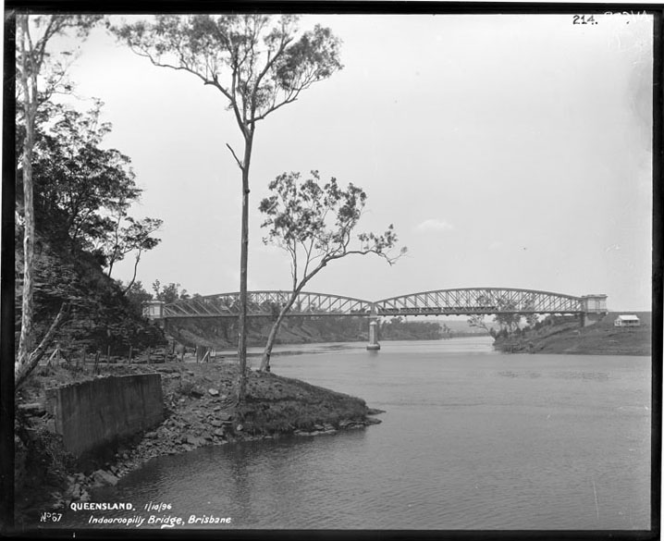 Indooroopilly Bridge, Brisbane, 1896