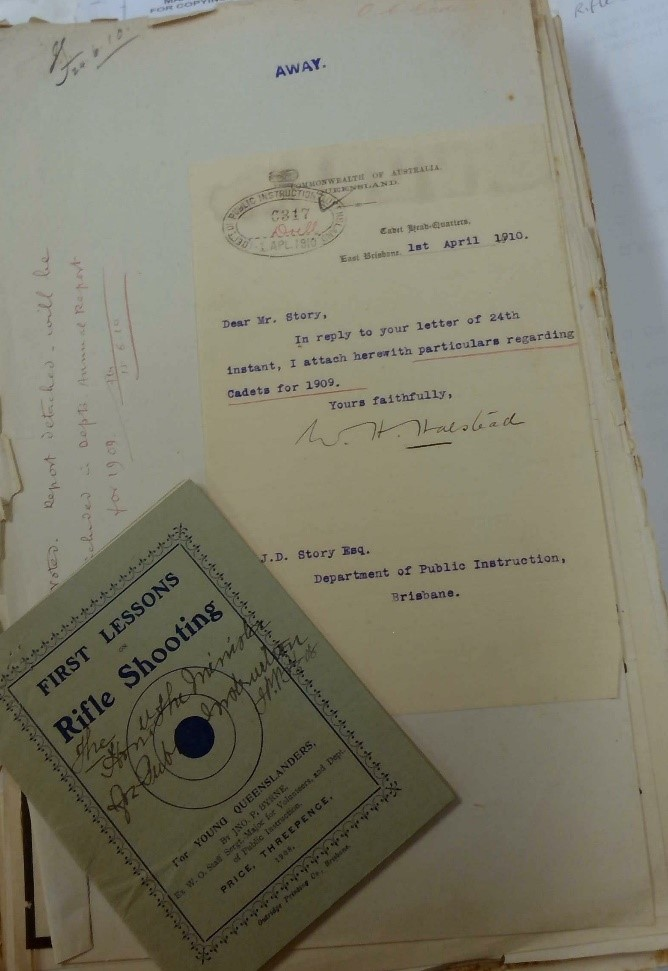 Queensland State Archives Item ID997062, Correspondence