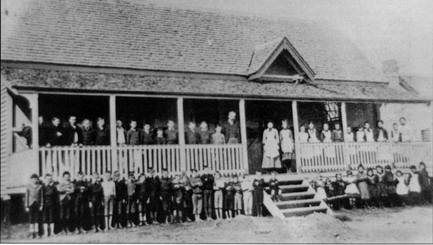 Nanango State School, 1894 - Image Courtesy of Nanango Shire Historical Society
