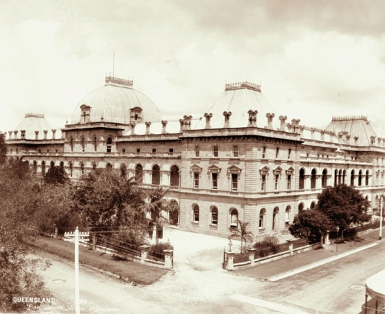 Parliament House, Brisbane, 1894