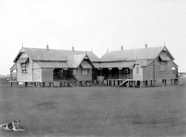 Richmond Hill State School, Burdekin Street, Charters Towers, c 1890  Queensland State Archives, Digital Image ID 2698